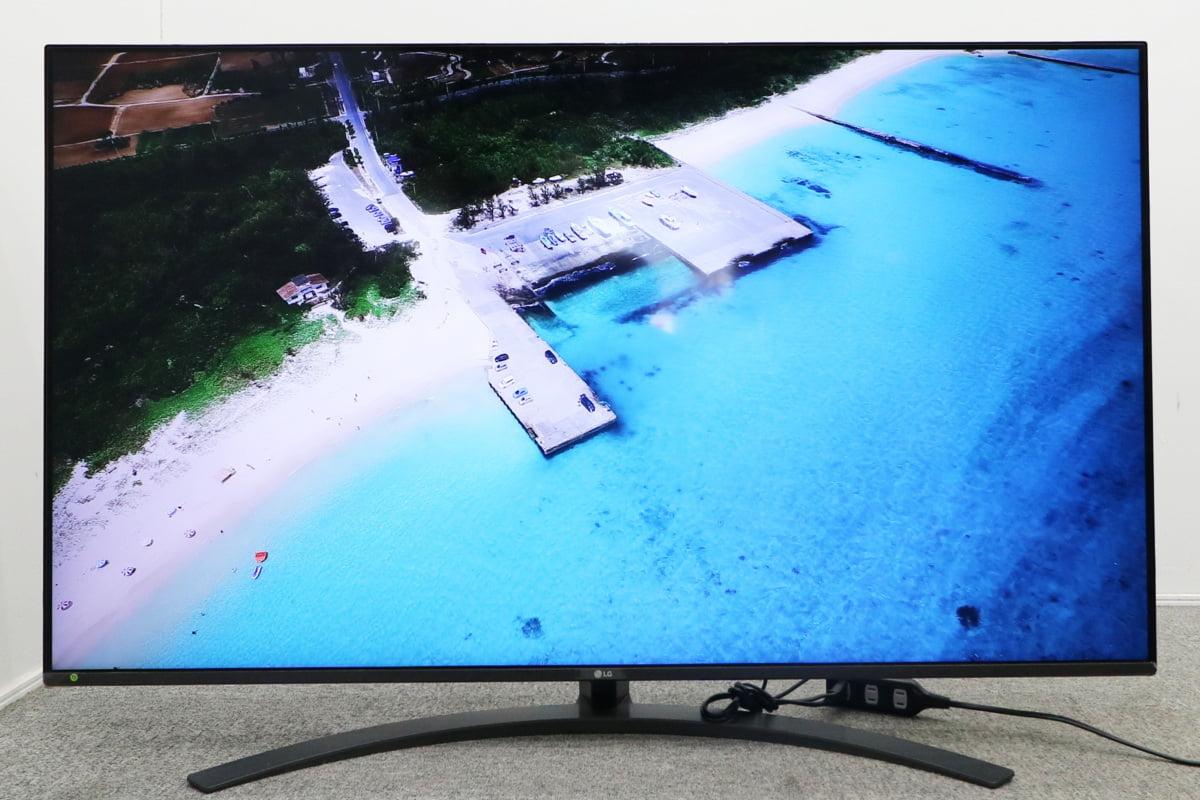 LGエレクトロニクス NanoCell TV 55SM8100PJB 55インチ 2020年製 IPSパネル 4k対応