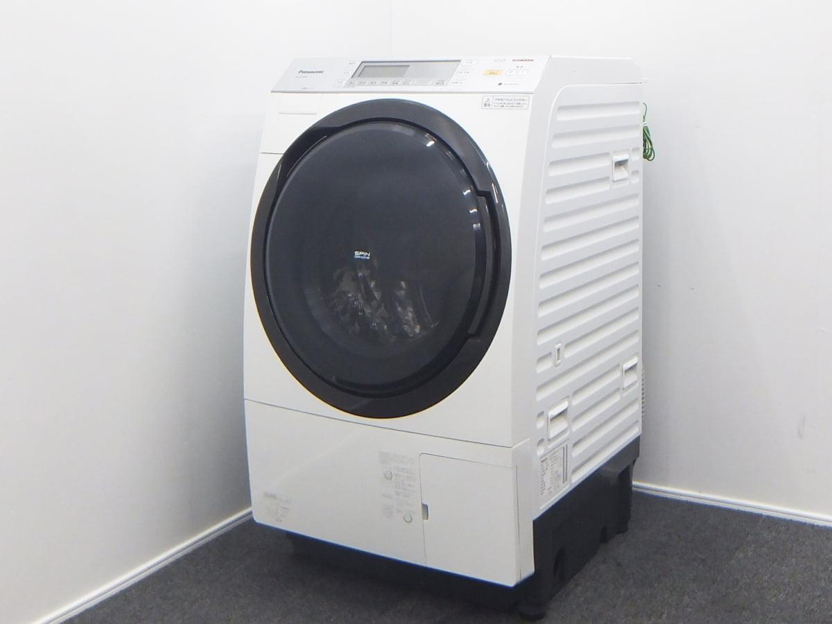 Panasonic パナソニック 10kg ドラム式洗濯乾燥機 NA-VX7600R 2016年製