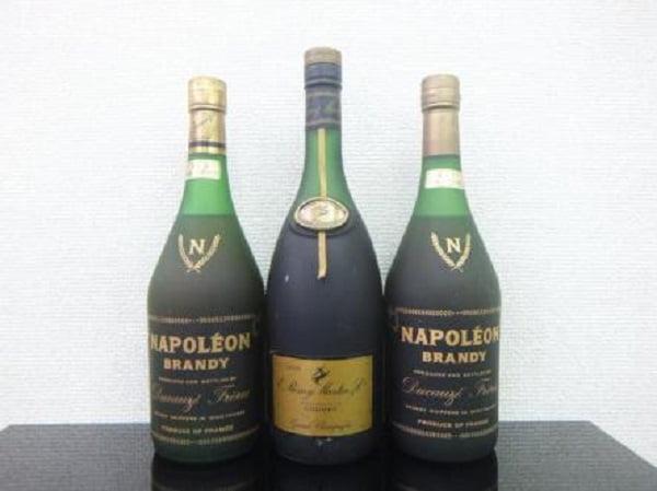 デュコーズ ナポレオン レミーマルタン グランドシャンパーニュ 3本 古酒